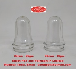 38mm PET preform