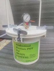 Black Pressure Feed Tank