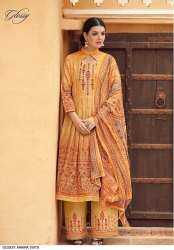 Cotton Printed Handwork Suits