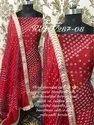 Bandhani Silk Suit