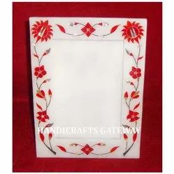 Marble Inlay Photo Frame for Gifts