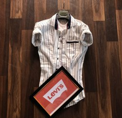 Casual Wear Collar Neck Long Sleeve Shirts