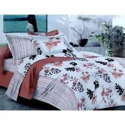 Sig. shiraz Flower Printed Double Bed Sheet