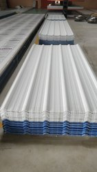 Steel / Stainless Steel Coated UPVC Profile Sheet