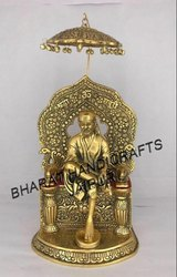 Gold Plated Sai Baba