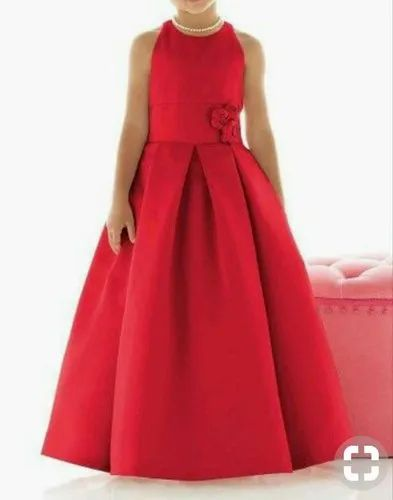 Red Girls Frock