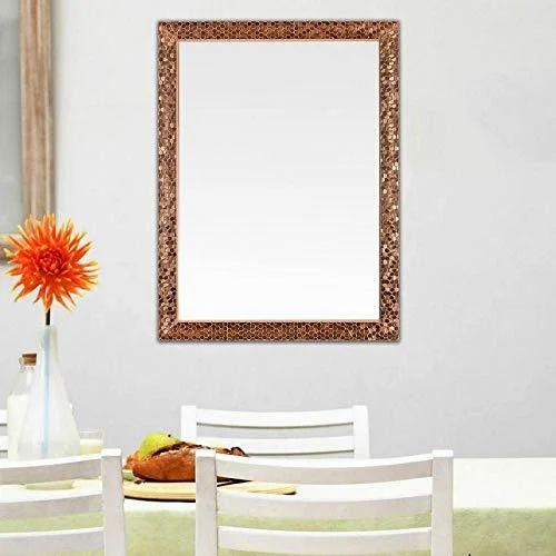 600 X 800 Mm Rectangle PVC Frame Mirror, Quality Glass | ID: 20179183848