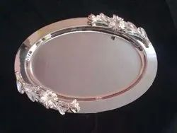 Silver Stainless Steel Platters