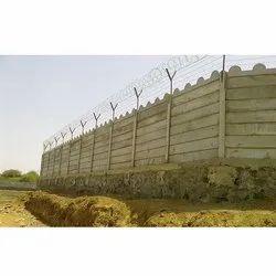 Modular Precast Boundary Wall