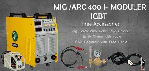 400-500 Three Phase GB MIG/MAG CO2 400I Automatic Welding Machine, 440V