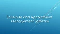 Latest Application Appointment Scheduling Software
