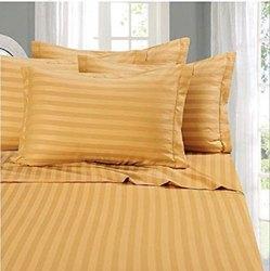 Cotton Colour Satin Stripes Bedsheet