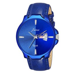 Jainx Blue Dial Day & Date Function Analog Watch for Men & Boys JM341