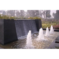 Outdoor Foam Fountain