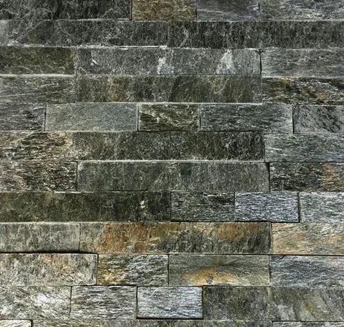 Silver Shine Slatestone Wall Panels Cladding Tiles