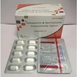 Gabapentin And Nortriptyline Hydrochloride Tablets