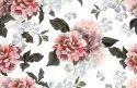 Digital Floral Printed Chiffon Lycra Stretchable Fabric