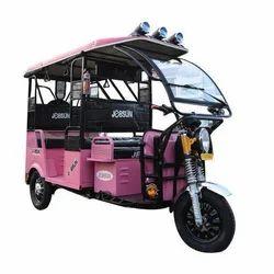 Pink 4+1 Jessun Electric Rickshaw