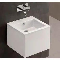 LES-WHT-0530 Ceramic Basin