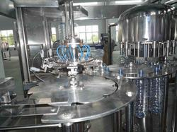 Automatic Bottle Rinsing Filling & Capping Machine