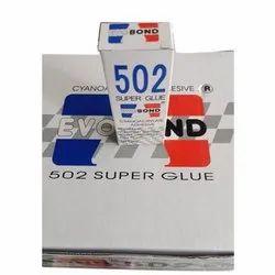 20 Gram EVO BOND 502 Super Glue Cyanoacrylate Adhesive