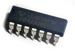 CD4081BE Texas Instruments Integrated Circuits