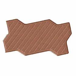 Zigzag Line Blocks Rubber Mould