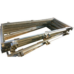 Silver Polished Galvanized Door Frame, Grade Of Material: Gi