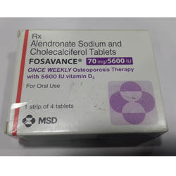 Fosavance 70 mg/5600 IU Tablets
