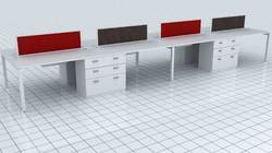 Office Open Desking Workstation