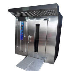 72 Trays Electric Rotary Rack Oven