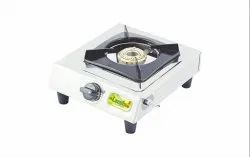 Laxmi Shine Stainless Steel Single Burner Gas Stove
