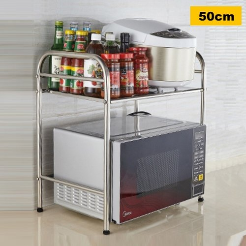 Double Layer Microwave Storage Rack