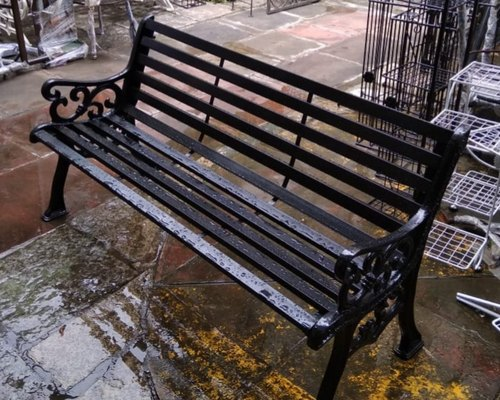 Garden Furniture Wrought Iron Outdoor Park Bench Manufacturer
