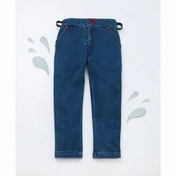Cotton Blue Kids Boy Trousers, Packaging Type: Packet