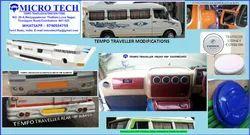 Frp Base white Tempo Traveller Accessories