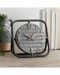 Table Top Clock in Metal