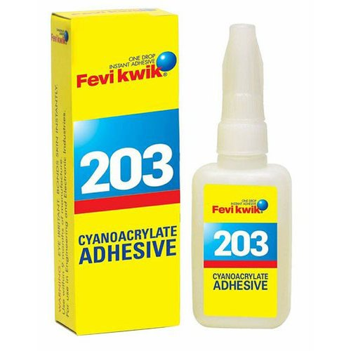 Pidilite Fevikwik 203 Cyanoacrylate Adhesive, Packaging Size: 20 Grams, Packaging Type: Bottle
