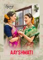 Saroj Aayshmati Banarasi Silk Saree