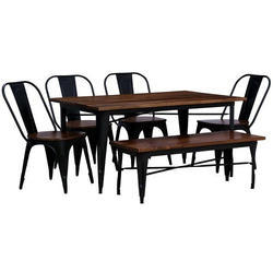 Wooden Dining Table Set in Jodhpur, Rajasthan | Wooden Dining Set ...