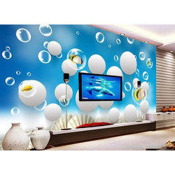 Decorative Art Glass Wallpaper