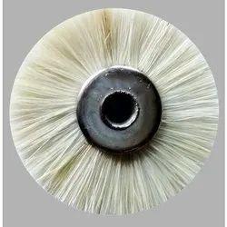 White Wheel Brush