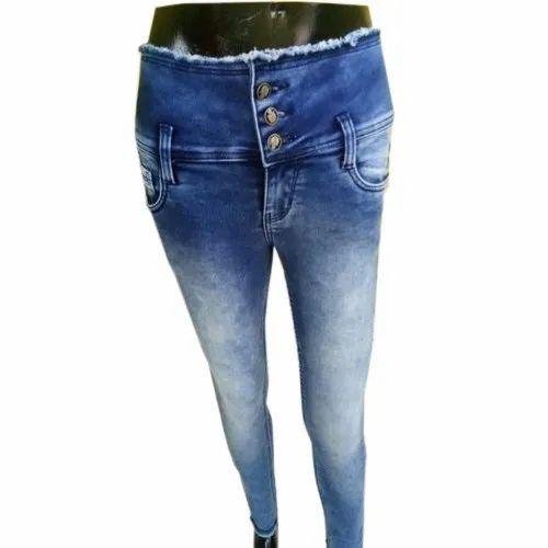 f4b2b132a57 Pink Lotus Womens High Waist Jeans