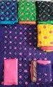 Maroon Bandhani Dress Material