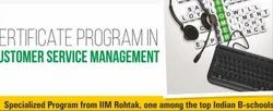 Certificate Programme in Customer Management Service
