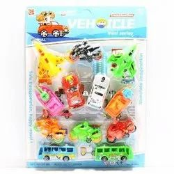 Optional Kids Plastic Vehicle Combination Toy, for School/Play School, 7-10 Yrs