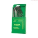 9 Pcs Hex Allen Keys Set - Short Pattern - CRV E-2403 B