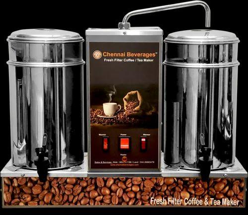 Gemini Stainless Steel Tea Coffee Maker Machine, to increase work output