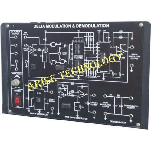 Delta Modulation Circuit Diagram Using Ic