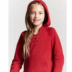 Girls Hooded Sweatshirt